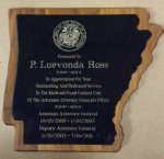 Arkansas Walnut Veneer Plaques ARKANSAS AWARDS
