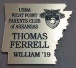 Arkansas Shaped Name Badge ARKANSAS AWARDS