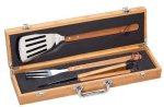 BBQ Gift Set Bamboo Case Employee Awards