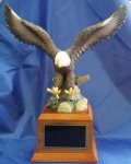 Eagle Resin Trophy Patriotic Awards