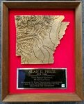 Arkansas Copperama Plaque Quick Turnaround