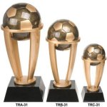 Soccer Tower Resin Trophies | Resin